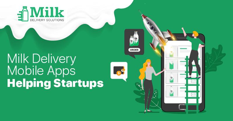 Milk delivrey mobile app for milk business startups
