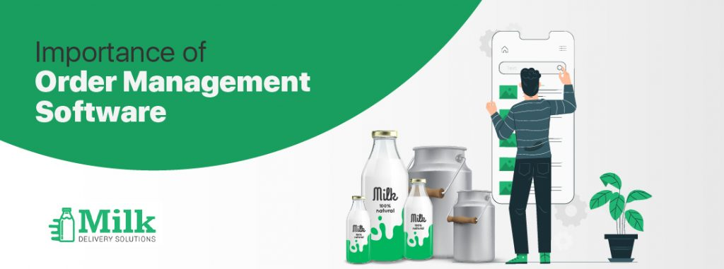 Order management for dairy business