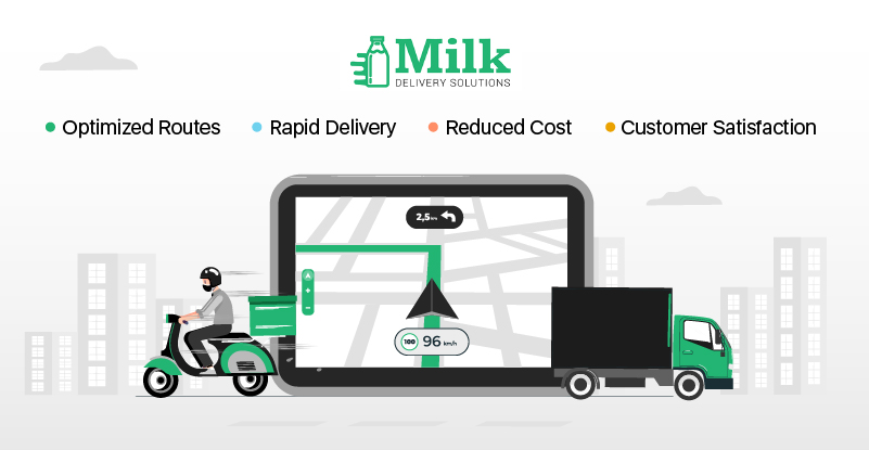 Route Optimization for milk delivery